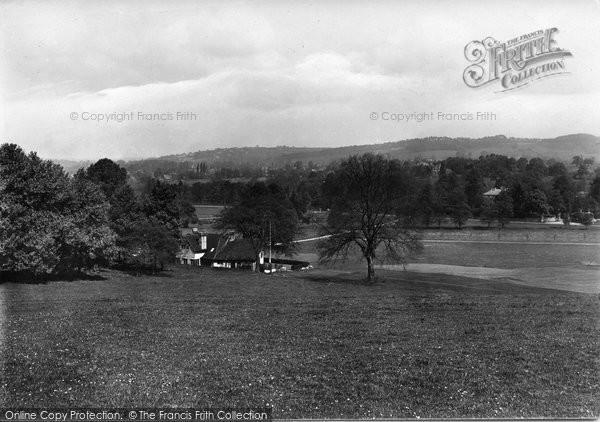 Bramley, View From Golf Links 1921