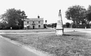 Brampton, The Royal Oak And Signpost c.1960
