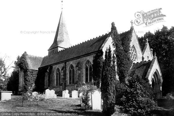 Bramshott, The Church Of St Mary 1901
