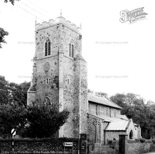 Brancaster, St Mary's Church c.1965
