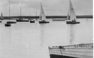 Brancaster, The Harbour c.1950