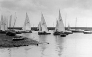 Brancaster, The Harbour c.1955