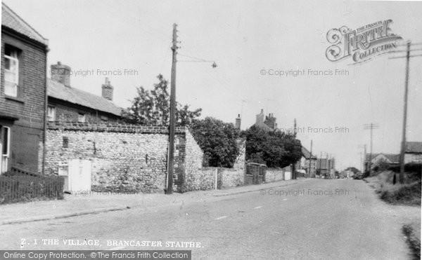 Brancaster, The Village c.1955