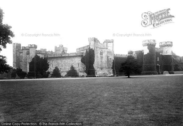 Brancepeth, The Castle 1892