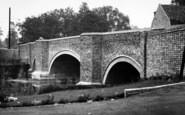 Brandon, Bridge From Ouse Hotel c.1955