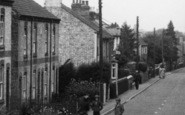 Brandon, Children, Bury Road c.1955