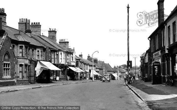 Brandon, High Street c.1950