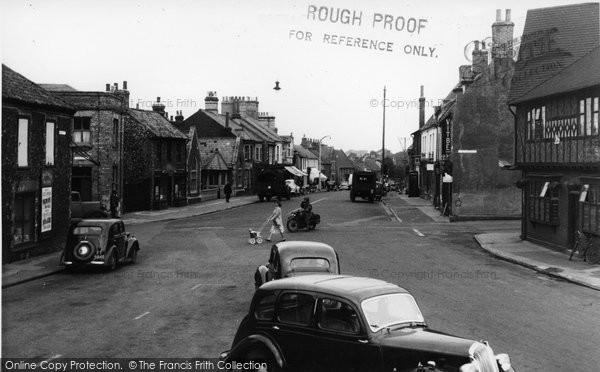 Brandon, High Street c.1955