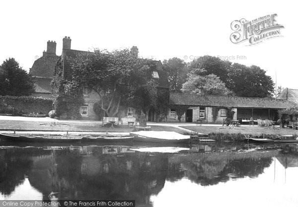 Brandon, River And Ouse Hotel 1925