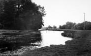 Brandon, River Ouse c.1955