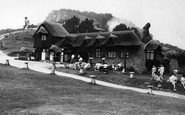 Branscombe, Beach Cafe c1955