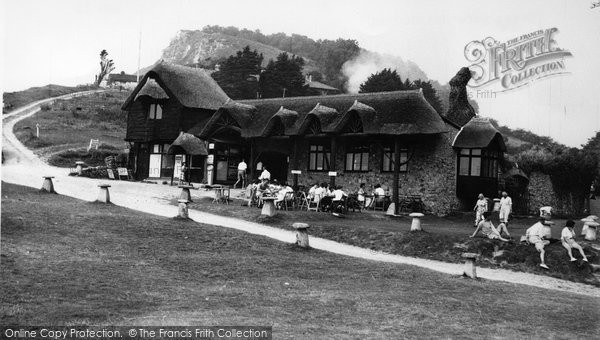Photo of Branscombe, Beach Cafe c1955