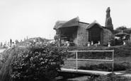 Branscombe, Beach Cafe c.1955