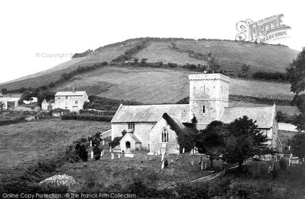 Branscombe, St Winifred's Church 1898