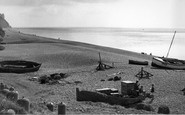 Branscombe, The Beach c.1950