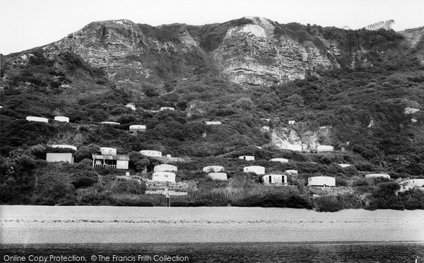 Branscombe, The Foreshore c.1960