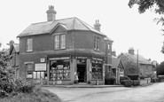 Bransgore, the Post Office c1960