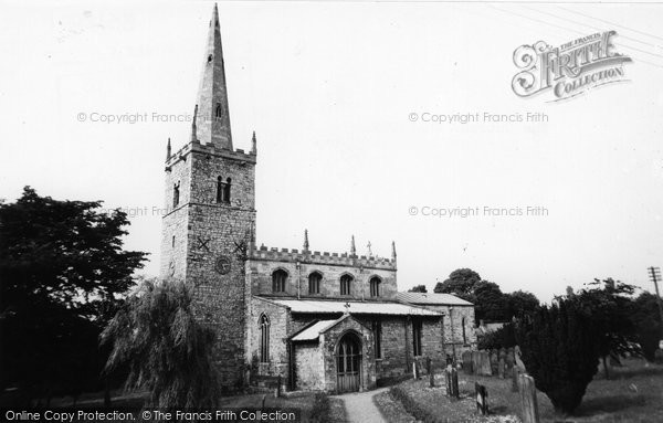 Branston, All Saints Church c.1955