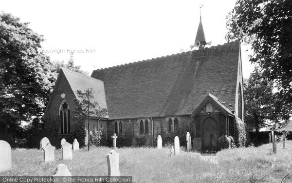 Branston, St Saviours Church c.1955