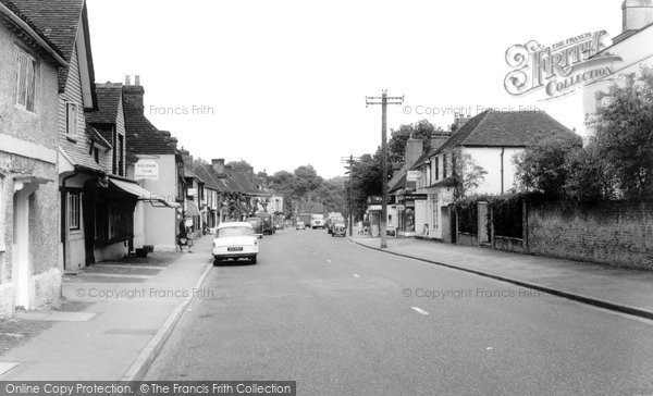 Brasted, High Street c.1960