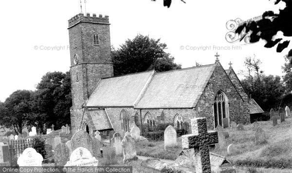 Bratton Fleming, The Church c.1955