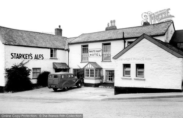 Photo of Bratton Fleming, White Hart Hotel c1955