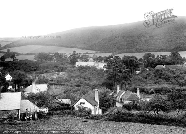 Photo of Bratton, the Village 1923