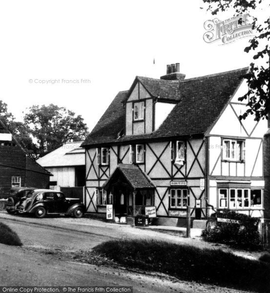 Braughing, The Post Office Stores c.1955