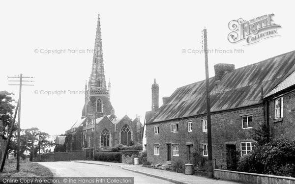 Braunston, All Saints Church c.1955