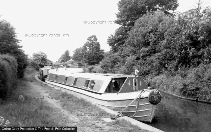 Braunston, The Canal c.1965