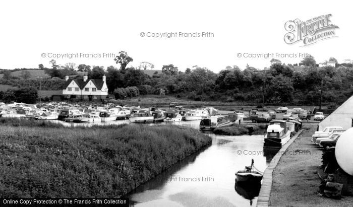 Braunston, The Marina c.1965