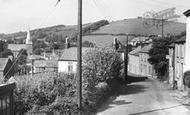 Braunton, Abbots Hill c.1955