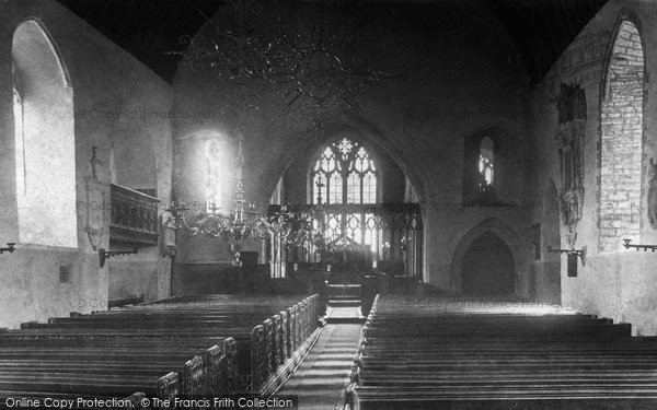 Braunton, Church Interior 1900