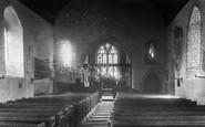 Braunton, Church Interior 1900
