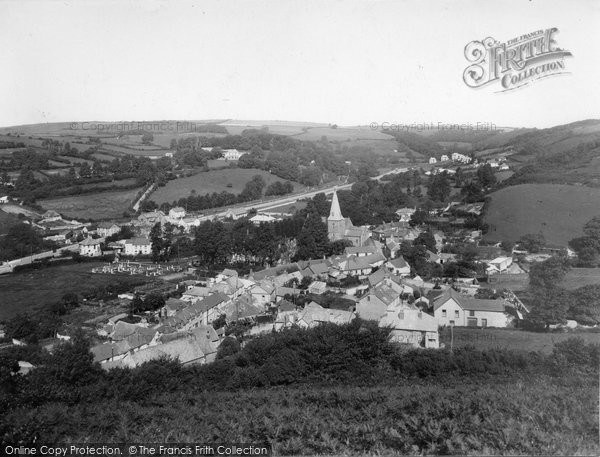 Braunton, From East Hill 1936