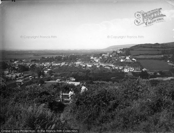 Braunton, Looking West 1936