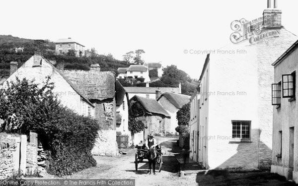Braunton, North Street 1900