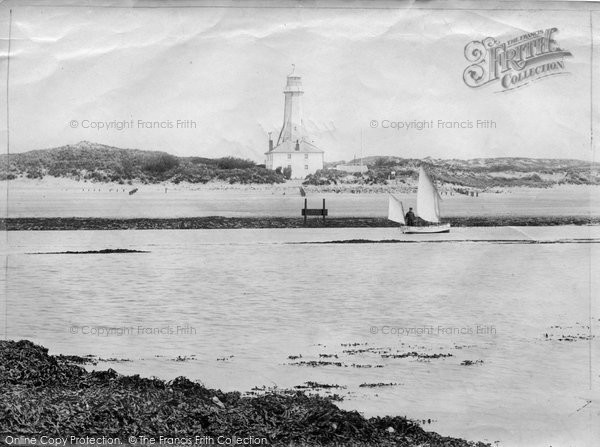 Braunton, Sands And Lighthouse 1906