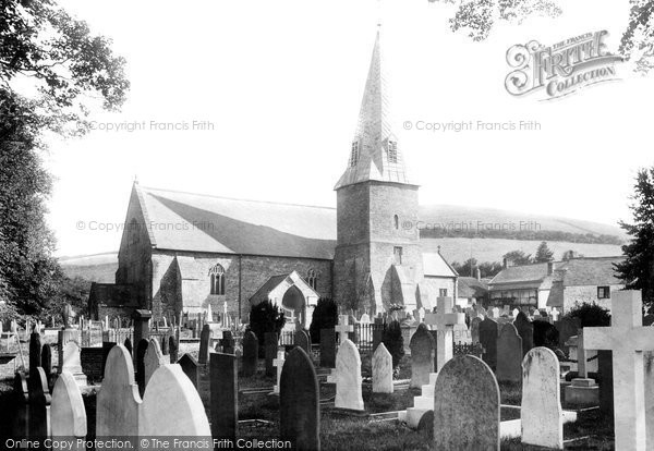 Braunton, St Brannock's Church 1900