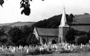 Braunton, St Brannock's Church c.1955