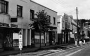 Braunton, The Plaza, Exeter Road c.1950