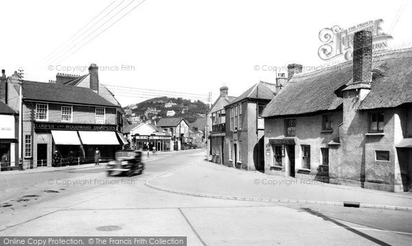 Braunton, The Square 1936