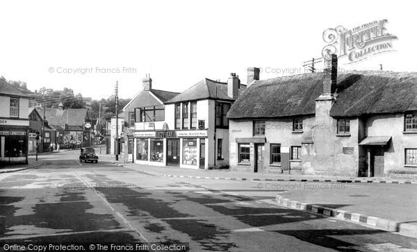 Braunton, The Square c.1950