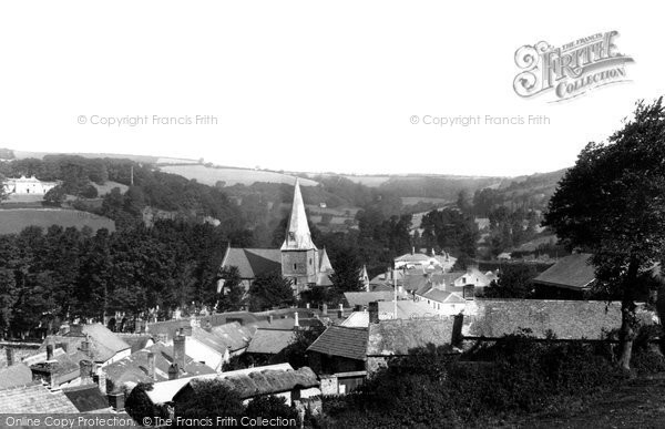 Braunton, The Village 1900