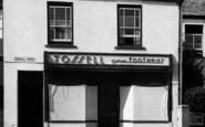 Braunton, Tossell Footwear Shop c.1955