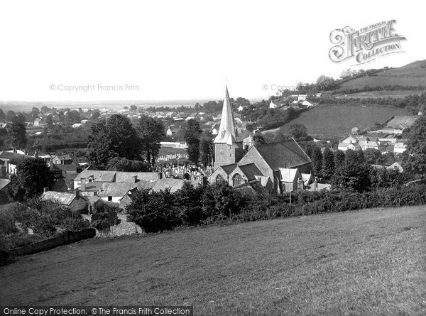 Braunton, Village And St Brannock's Church 1936