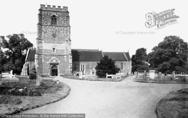 Bray, Church From South 1890