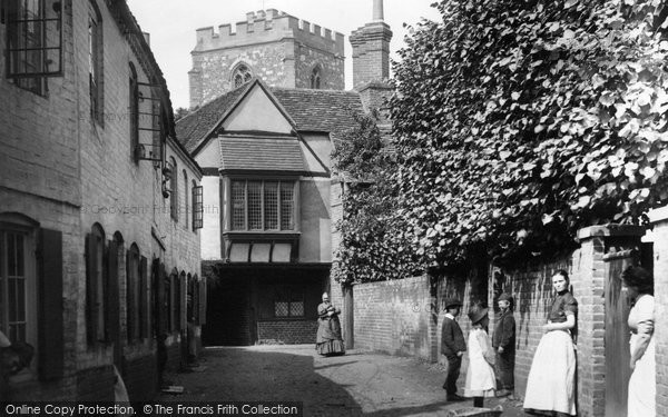 Bray, Old Vicarage 1890
