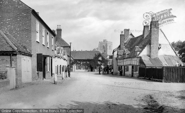Bray, Village 1890