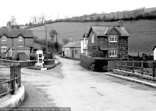 Brayford, The Post Office c.1955